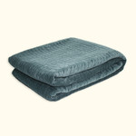 Dransfield and Ross House Network Quilted Coverlet - Tern