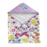Kassatex Bambini Butterfly Hooded Towel