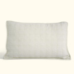 Dransfield and Ross House Eclipse Oblong Decorative Pillow - Ivory