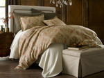 Peacock Alley Marseille Duvet Cover - Coral