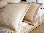 Peacock Alley Lucia Pillow Sham - Champagne
