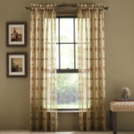 Croscill Chimayo Window Panel - Linen