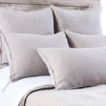 Pom Pom at Home Blair Taupe Duvet Cover