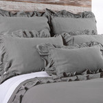 Pom Pom at Home Charlie Grey Stone Duvet Cover