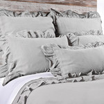 Pom Pom at Home Charlie Silver Duvet Cover