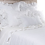 Pom Pom at Home Charlie White Duvet Cover