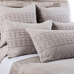 Pom Pom at Home Layla Taupe Duvet Cover