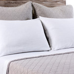 Pom Pom at Home Huntington Taupe Euro Sham