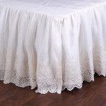 Pom Pom at Home Annabelle Cream Bed Skirt