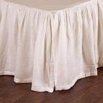 Pom Pom at Home Linen Voile Bed Skirt - Cream