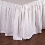 Pom Pom at Home Linen Voile Bed Skirt - White
