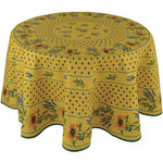 Provence Cotton Tablecloths - Sunflower Yellow