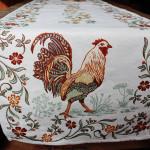 Jacquard Weave French Runner - La Ferme Tapestry
