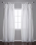 Pom Pom at Home Olivia White Curtain