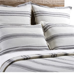 Pom Pom at Home Jackson Pillow Shams - Cream/Grey