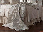 Lili Alessandra Moderne Throw -Ivory