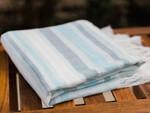 Peacock Alley Costa Beach Towel - Blue