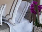 Lili Alessandra Soho Sheet Set - White / Grey