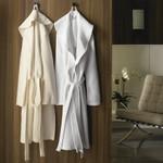 Kassatex Luxury Diamond Robe - White