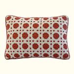 Nostalgia Home Folk Art Oblong Lattice Pillow