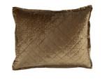 Lili Alessandra Chloe Straw Velvet Standard Pillow