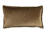 Lili Alessandra Chloe Straw Velvet King Pillow