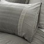 Pom Pom at Home Quinn Grey Pillow Sham