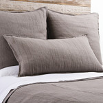 Pom Pom at Home Montauk Grey Stone Pillow Sham