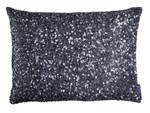 Lili Alessandra Jewel Small Rectangle Pillow - Silver Beads