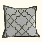 Dransfield and Ross Alhambra Mist Euro Sham