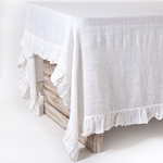 Pom Pom at Home Lily Tablecloth - White