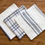 Pom Pom at Home Bistro Napkin - Off White/Grey