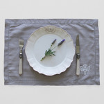 Pom Pom at Home Lux Placemats - Grey