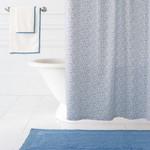 Pine Cone Hill Confetti French Blue / Indigo Shower Curtain