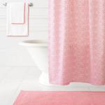 Pine Cone Hill Confetti Fichsia / Coral Shower Curtain