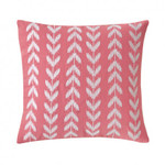 Southern Tide Coastal Ikat Embroidered Heart Decorative Pillow