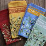 Provence Cotton Napkin - Olive Baux