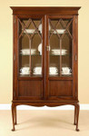 Laurel Crown Regency Curio Cabinet