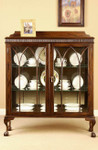 Laurel Crown Chippendale China Cabinet