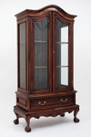 Laurel Crown Chippendale 2 Door China Cabinet