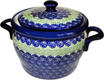 Boleslawiec Polish Pottery Bean Pot - Alex