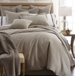Amity Home Ada Jacquard Duvet Cover - Grey
