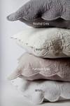Amity Home Bastien Trupunto Linen Quilt - Ivory