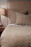Amity Home Bastien Trupunto Linen Quilt - Natural
