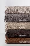 Amity Home Bastien Trupunto Linen Quilt - Platinum Grey