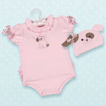 Bearington Wiggles Onesies and Hat Set