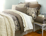 Amity Home Catalina Linen Quilt - Walnut