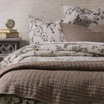 Amity Home Catalina Linen Quilt - Walnut Brown