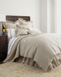 Amity Home Basillo linen Duvet Cover - Natural