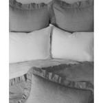 Amity Home Basillo linen Duvet Cover - Grey Chambray